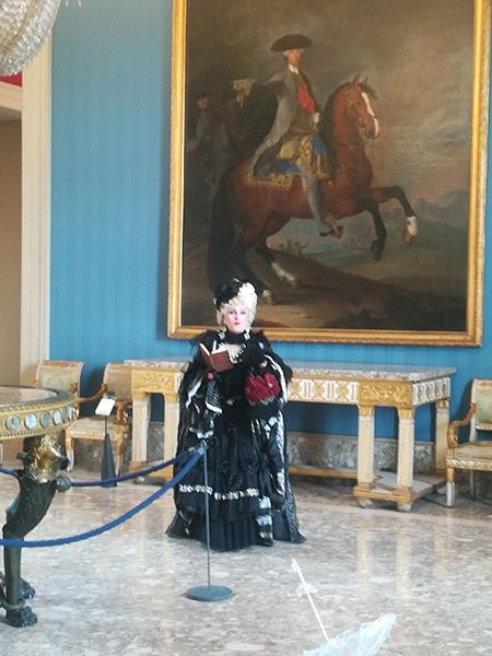 Dama di corte Capodimonte
