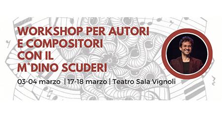 Workshop per autori e compositori con Scuderi