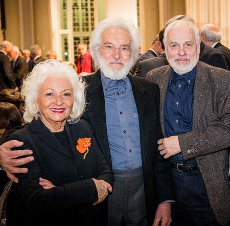 Angela Jodice, Mimmo Jodice e Antonio Pavanello