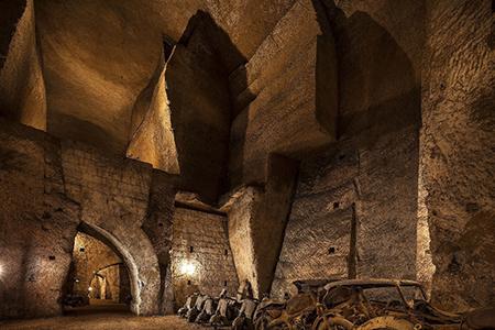 Gallerie Borbonica di Napoli, ph. Vittorio Sciosia