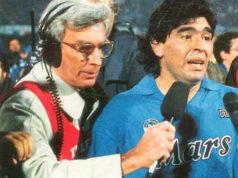 Italo Kühne e Diego Armando Maradona