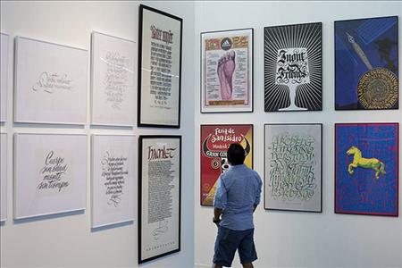"Risultati immagini per instituto cervantes roma""Letras & Marcas. Calligrafia & Branding"" diRicardo Rousselot"