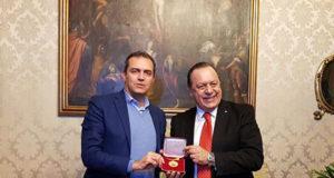 Luigi de Magistris e Gustavo Santos