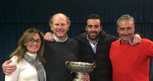Trofeo Italo Kühne - Diana Künne, Andrea Ballabio, Luciano De Caro, Giuseppe Fiordiliso