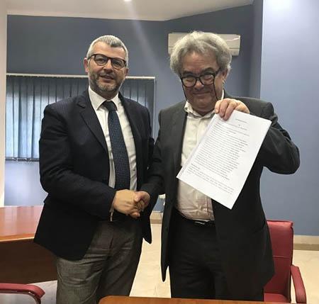 Vincenzo Caprio e Mauro Felicori