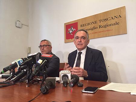 Vittorio Bugli ed Enrico Rossi