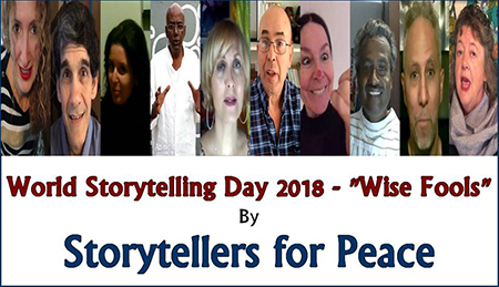 World Storytelling Day 2018 con gli Storytellers for Peace
