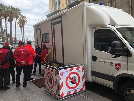 Camper della prevenzione Ordine di Malta