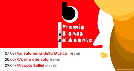 'Premio Bianca d'Aponte in tour'