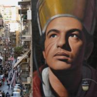 'San Gennaro' il murales di Jorit