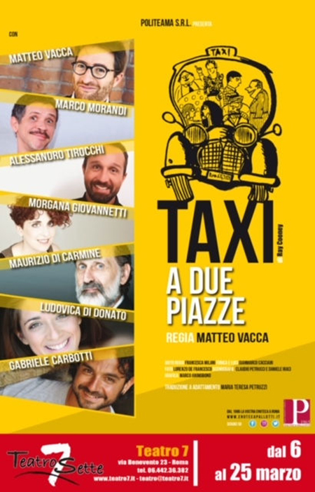 'Taxi a due piazze'
