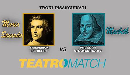 Teatro Match: Schiller vs Shakespeare