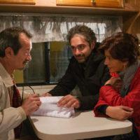 'Bob & Marys' il regista Francesco Prisco con Rocco Papaleo e Laura Morante