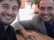 Lino Guanciale e Mario Esposito