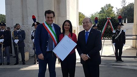 Luigi Di Lorenzo, Sonia Palmeri e Raffaele Ruberto