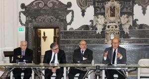 Marco Salvatore, Lucio d'Alessandro, Arturo De Vivo e Giulio Baffi