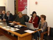 Michele Faiella, Luca Cerchiai, Mariagiovanna Riitano, Francesca Casule e Luigina Tomay
