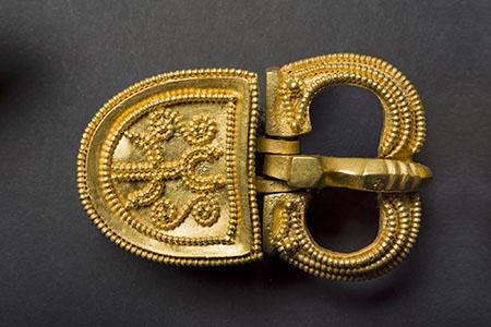 Elemento di cintura Iran VI-VII sec dC Oro