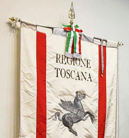 Regione Toscana gonfalone