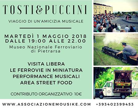 'Tosti & Puccini: Viaggio di un'amicizia musicale' al Museo di Pietrarsa