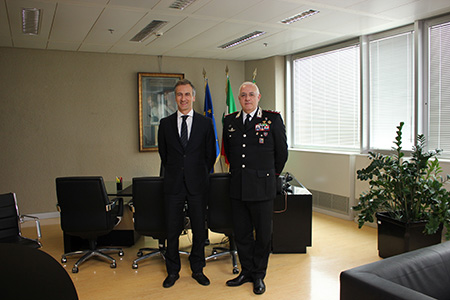 Alessandro Fermi e Teo Luzi
