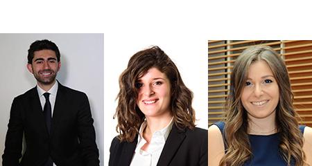 Andrea De Ponte, Nunzia Riccardi e Giordana Vigilante
