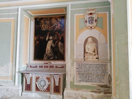 Chiesa della Madonna del Pilar al Castello aragonese di Baia