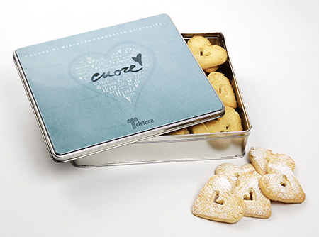 Cuori di biscotto