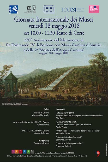Giornata internazionale dei Musei alla Reggia di Caserta