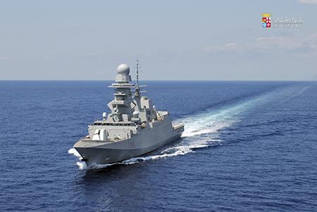 Nave Rizzo ph Marina Militare