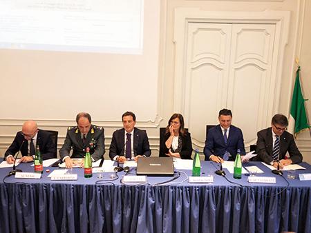 Nussi, Carrarini, Moretta, Romagnolo, De Tavonatti e Coppola