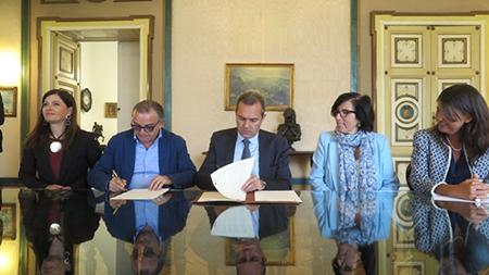 Protocollo d'intesa Comune di Napoli e ASL Napoli 1 Centro