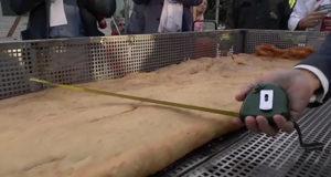 Record pizza fritta