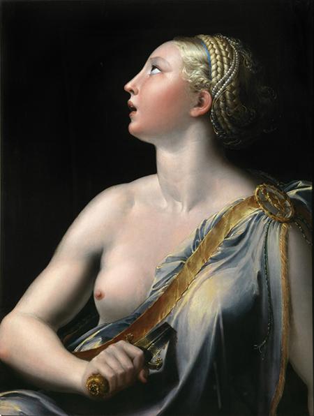 Parmigianino, Lucrezia Capodimonte, ph L. Romano