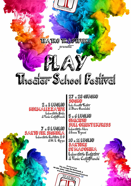 'Play - Theater School Festival'