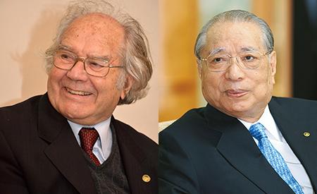 Adolfo Pérez Esquivel e Daisaku Ikeda