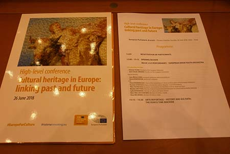 High level conference Cultural heritage in Europe: linking past and future