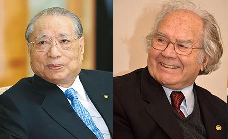 Daisaku Ikeda e Adolfo Perez Esquivel