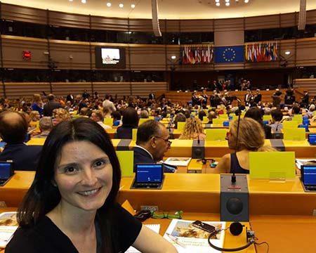 European Parliament Brussels Plenary Chamber