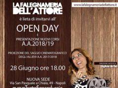 Open Day 2018-19 Scuola di Recitazione La Falegnameria dell'Attore