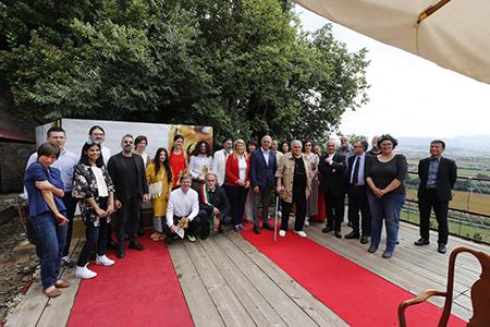Giuria, artisti e sindaco MIAP 2018