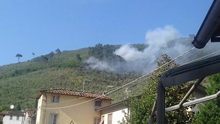 Incendio Montecastellaccio