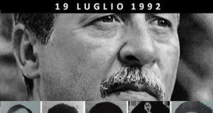 19 luglio 1992 Paolo Borsellino strage via D'Amelio, Palermo