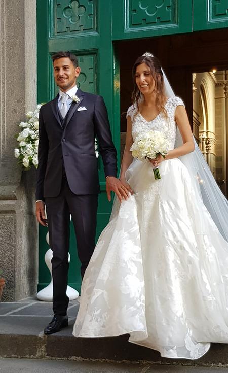 Alessandro Femiano e Germana Esposito