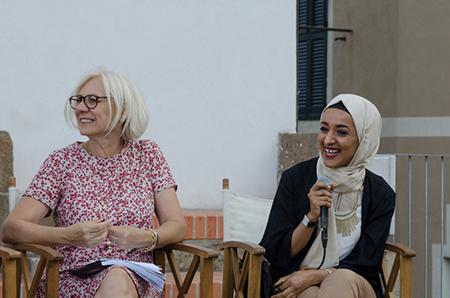 Monica Barni e Takoua Ben Mohamed, foto di Giulia Paratelli