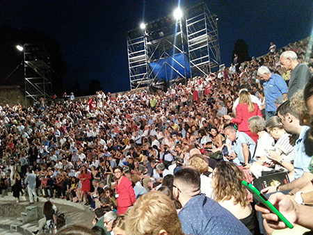 'Eracle' Teatro Grande di Pompei (NA) ph Dario David