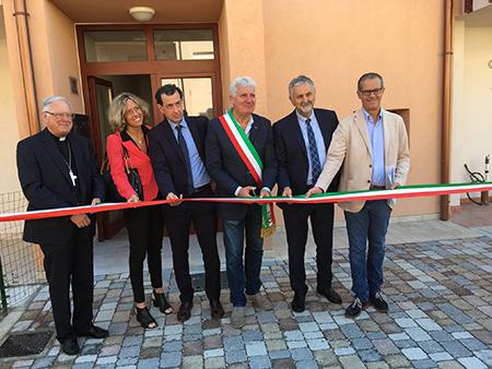 inaugurazione social housing Candala