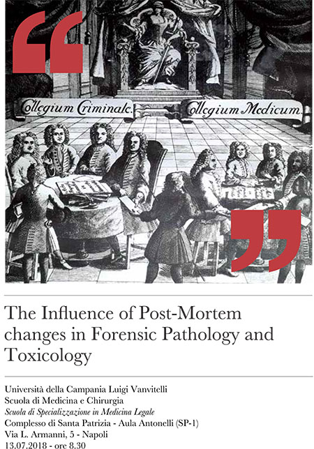 'The Influence of Post-Mortem Changes in Forensic Pathology and Toxicology'