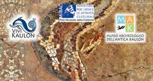 Mosaico pavimentale de La Sala dei draghi e dei delfini