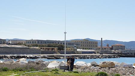 Po marittimo radar Livorno